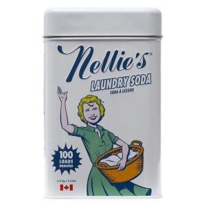 ネリーズランドリーソーダ缶 1.5kg 1缶 粉末 衣料用洗剤 ビーブリッジ|y-lohaco