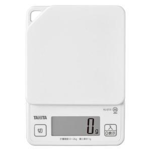 タニタ(TANITA) キッチンスケール 2kg ココナッツホワイト KJ-213 1台 計量器 クッキングスケール|LOHACO PayPayモール店