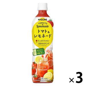 カゴメ トマト&レモネード 720ml 1セット(3本)|y-lohaco