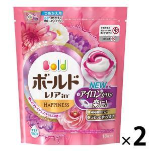 アウトレット P&G ボールドジェルボール3D 癒しのプレミアムブロッサムの香りつめかえ用 1セット(36粒:18粒入×2パック)