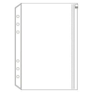 システム手帳用リフィル decona ファスナーポケット A5 HAR490 レイメイ藤井