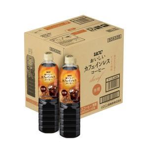 UCC上島珈琲 おいしいカフェインレスコーヒー 無糖 930ml 1箱(12本入)|LOHACO PayPayモール店