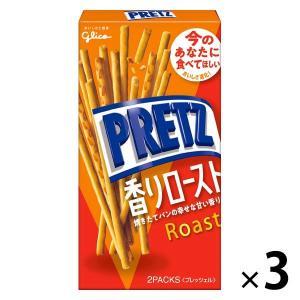 江崎グリコ プリッツ 香りロースト 1セット(3個)