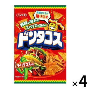 コイケヤ(湖池屋)ドンタコスチリタコス味 1セット(4袋入)