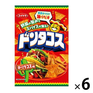 コイケヤ(湖池屋)ドンタコスチリタコス味 1セット(6袋入)