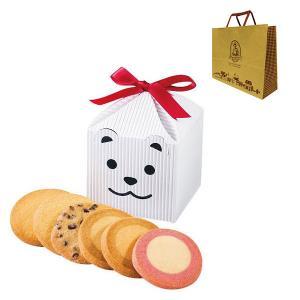 ホワイトデー2020 ステラおばさんのクッキー カントリーベアテントボックス(白) 1個 アントステラ 紙袋付き 手土産 ギフト