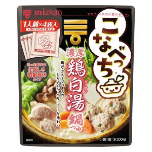 ミツカン こなべっち 濃厚鶏白湯鍋つゆ 1個