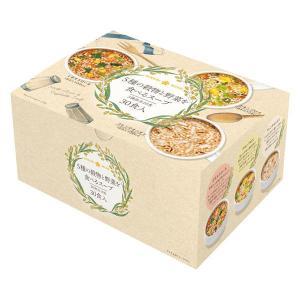 ひかり味噌 5種の穀物と野菜を食べるスープ30食 1袋 LOHACO PayPayモール店