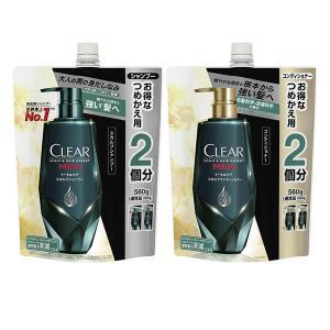 【セール】【セット品】CLEAR(クリアフォーメン)スカルプ シャンプー&コンディショナー トータル...