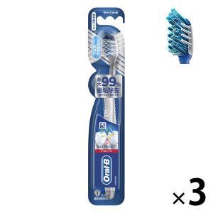 オーラルB クロスアクション 7ベネフィット 大きめ やわらかめ 1セット(3本) P&G 歯ブラシ