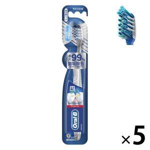 オーラルB クロスアクション 7ベネフィット 大きめ やわらかめ 1セット(5本) P&G 歯ブラシ