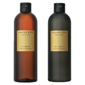 AROMA KIFI(アロマキフィ) オーガニック モイストシャイン シャンプー+トリートメント 本...