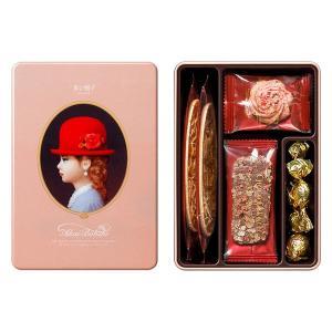 赤い帽子 エレガント 1箱 ギフト プレゼント 手土産 母の日 父の日 敬老の日