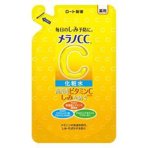 メラノCC 薬用しみ対策美白化粧水 つめかえ用 170mL ロート製薬|LOHACO PayPayモール店