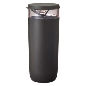 Ready to(レディー トゥ) コーヒー計量キャニスター 珈琲 豆入れ 保存 容器 ブラック 1個 マーナ|LOHACO PayPayモール店