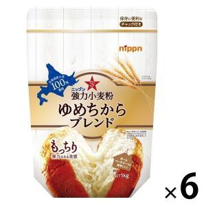 ニップン 強力小麦粉 ゆめちからブレンド 1セット(6個) LOHACO PayPayモール店