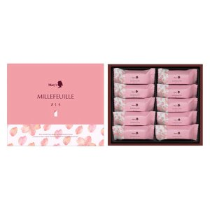 三越伊勢丹 Mary's(メリーチョコレート)ミルフィーユ さくら10個入 1箱