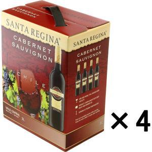 サンタレジーナ カベルネ・ソーヴィニヨン 3000ml バッグインボックス 4本  赤ワイン