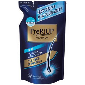 PreRiUP(プレリアップ) スカルプシャンプー 詰め替え 350ml 大正製薬