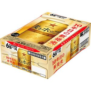 サッポロビール サッポロ 麦とホップ 350ml 24缶|y-lohaco|02