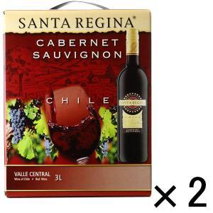サンタレジーナ カベルネ・ソーヴィニヨン 3000ml バッグインボックス 2本  赤ワイン