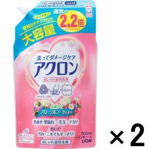 アウトレットライオン アクロンフローラルブーケの香りつめかえ用大サイズ 900mL 1セット(2個:1個×2)|y-lohaco