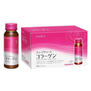 FANCL(ファンケル) ディープチャージ コラーゲン ドリンク 1箱(10本入)|y-lohaco