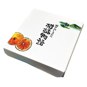 アウトレット 瀬戸内しまなみ柑橘物語 瀬戸内で育った八朔と甘夏のゼリー  1箱(150g×4個)