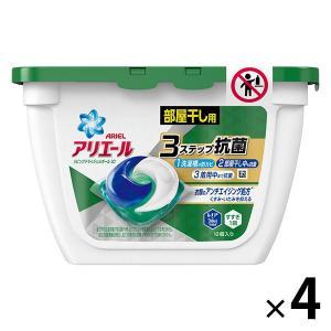 数量限定 アリエール リビングドライジェルボール3D 本体 1セット(18粒入×4個) 洗濯洗剤 P...