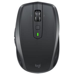ロジクール ワイヤレスマウス(無線/Bluetooth対応) MXANYWHERE2Sグラファイト ...