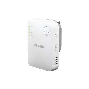 バッファロー 無線LAN中継機「エアステーション」 11ac/n/a/g/b 866+300Mbps対応 ホワイト WEX-1166DHPS