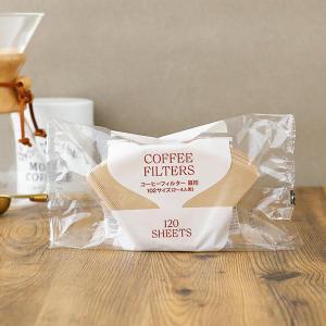コーヒーフィルター 扇形 102サイズ 無漂白 1袋(大容量 120枚入) ロハコ(LOHACO)オリジナル|LOHACO PayPayモール店