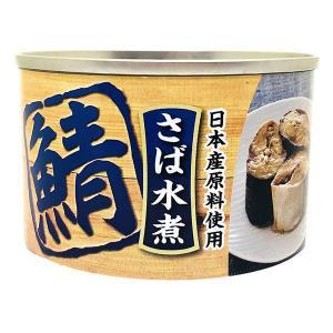 アウトレット さば水煮  国産さば使用  1セット(160g×6缶)