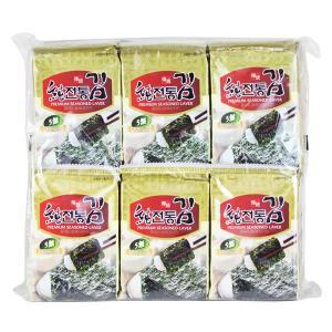 カルディコーヒーファーム〈オーバーシーズ〉 ソチョン 伝統韓国のり (8枚×12p入)1袋 韓国海苔|LOHACO PayPayモール店