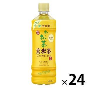 伊藤園 おーいお茶 炒りたて玄米茶 525ml 1箱(24本入)