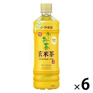 伊藤園 おーいお茶 炒りたて玄米茶 525ml 1セット(6本)