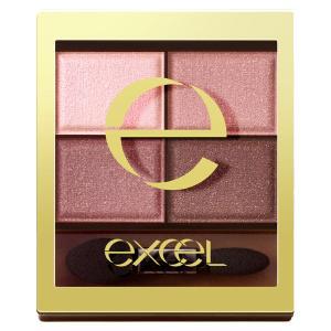 サナexcel(エクセル)スキニーリッチシャドウSR10(ピオニーブラウン)常盤薬品工業