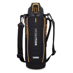 サーモス(THERMOS) 水筒 真空断熱スポーツボトル 大容量 1.5L ブラックオレンジ FHT-1501F BKOR 1個  送料無料|LOHACO PayPayモール店