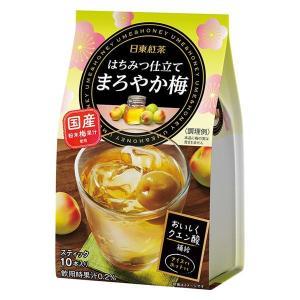 三井農林 日東紅茶 はちみつ仕立て まろやか梅 1袋(10本入)