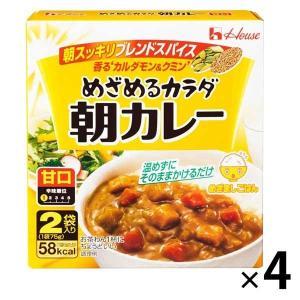 アウトレット ハウス食品 めざめるカラダ朝カレー 甘口 1セット(150g×4個)