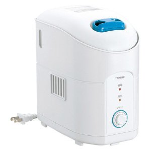 ツインバード パーソナルスチーム加湿器 SK-4974W 1.2L 8時間連続加湿 空だき防止 ホワイト|LOHACO PayPayモール店