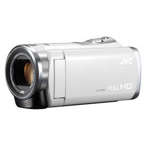JVC ビデオカメラ GZ-HM199-W ホワイト 光学40倍 デジタル1000倍