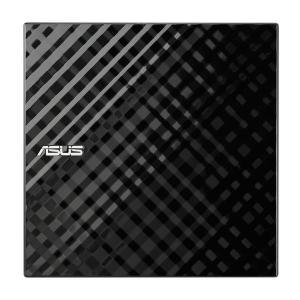 ASUS  SDRWシリーズ 外付けスリムタイプDVDドライブ 黒 SDRW-08D2S- SDRW-08D2S-U LITE 1台