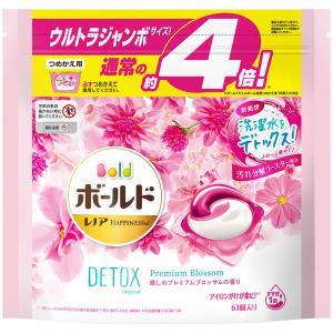 ボールド ジェルボール3D プレミアムブロッサムの香り 詰め替え ウルトラジャンボ 1個(63粒入)...