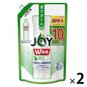 セール 除菌ジョイコンパクト JOY 緑茶の香り 詰め替え ジャンボサイズ 1330ml 1セット(...