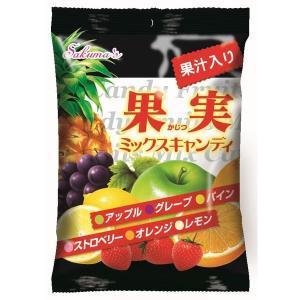アウトレット 佐久間製菓 果実ミックスキャンディ 1セット(90g×2袋)
