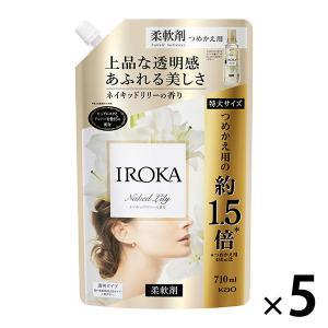 セール フレアフレグランス IROKA イロカ ネイキッドリリーの香り 詰め替え 特大 710ml ...