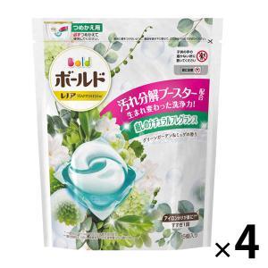アウトレット P&G ボールドジェルボールグリーンガーデンミュゲの香り 詰替 1セット(60粒:15粒入×4)|LOHACO PayPayモール店