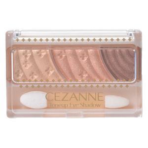 CEZANNE セザンヌ トーンアップアイシャドウ 08 ハニーブラウン セザンヌ化粧品の商品画像|ナビ