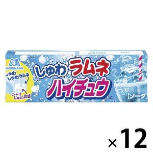 森永製菓 しゅわラムネハイチュウ<ソーダ> 12パック